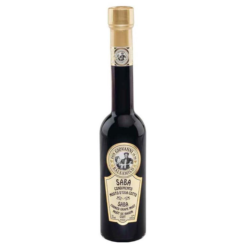 Saba - Mosto d'uva Cotto - 250ml Acetaia Don Giovanni Condimenti Balsamico