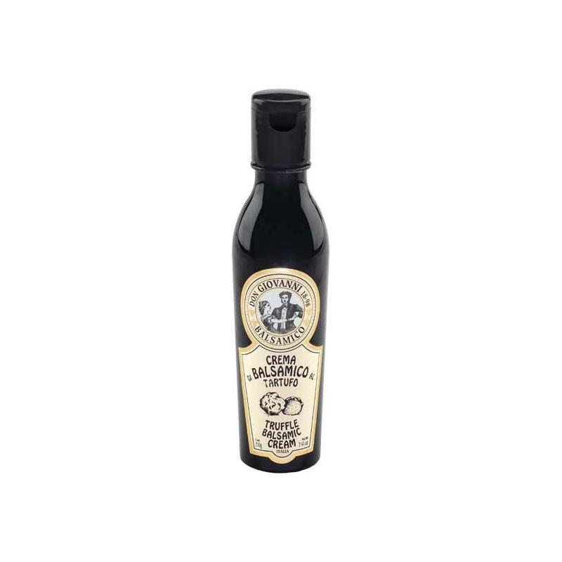Crema di Balsamico al TARTUFO - 210gr Acetaia Don Giovanni Condimenti Balsamico