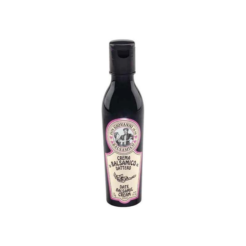 Crema di Balsamico al DATTERO - 210gr Acetaia Don Giovanni Condimenti Balsamico