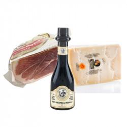 Degustazione Prosciutto - Parmigiano - Aceto Balsamico IGP