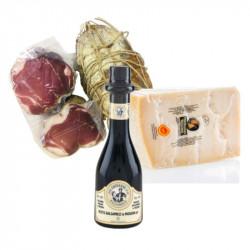 Degustazione Fiocco Stagionato - Parmigiano DOP - Aceto Balsamico IGP