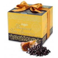 Panettone Balsamico con Fichi e Cioccolato 750 gr