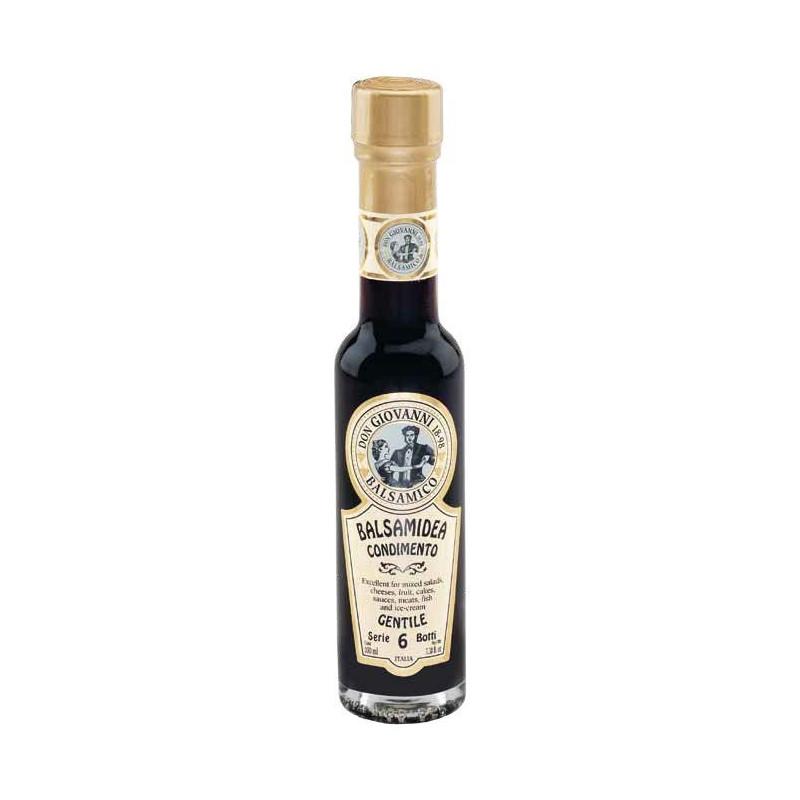 """Condimento Balsamico """"Serie 6 Botti"""" GENTILE -100ml Acetaia Don Giovanni Condimenti Balsamico"""