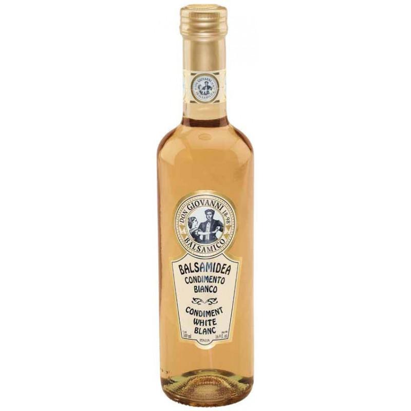 Condimento Balsamico BIANCO - 500ml Acetaia Don Giovanni Condimenti Balsamico
